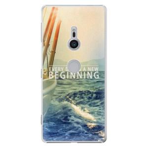 Plastové pouzdro iSaprio Beginning na mobil Sony Xperia XZ2