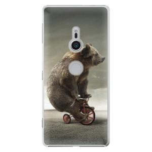 Plastové pouzdro iSaprio Medvěd 01 na mobil Sony Xperia XZ2