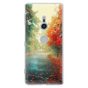 Plastové pouzdro iSaprio Podzim 03 na mobil Sony Xperia XZ2