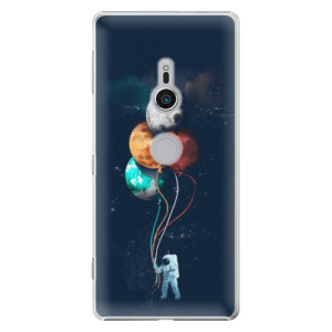 Plastové pouzdro iSaprio Balónky 02 na mobil Sony Xperia XZ2