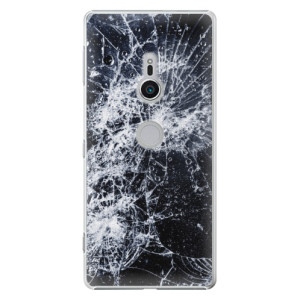 Plastové pouzdro iSaprio Praskliny na mobil Sony Xperia XZ2