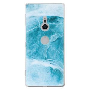 Plastové pouzdro iSaprio Blue Marble na mobil Sony Xperia XZ2