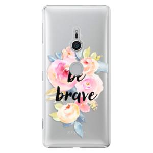 Plastové pouzdro iSaprio Be Brave na mobil Sony Xperia XZ2