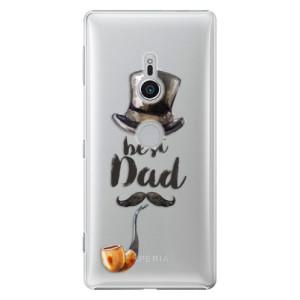 Plastové pouzdro iSaprio Best Dad na mobil Sony Xperia XZ2