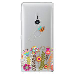 Plastové pouzdro iSaprio Včelka Pája 01 na mobil Sony Xperia XZ2