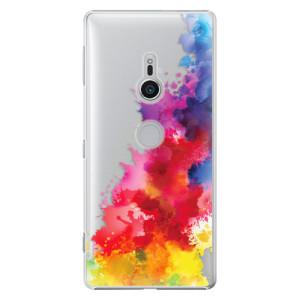 Plastové pouzdro iSaprio Color Splash 01 na mobil Sony Xperia XZ2