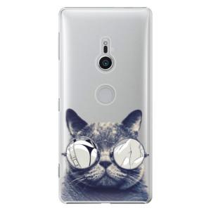 Plastové pouzdro iSaprio Šílená Číča 01 na mobil Sony Xperia XZ2
