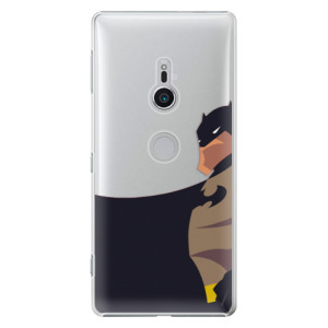 Plastové pouzdro iSaprio BaT Komiks na mobil Sony Xperia XZ2