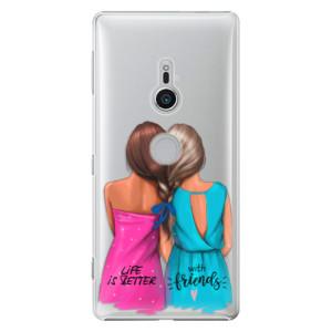 Plastové pouzdro iSaprio Best Friends na mobil Sony Xperia XZ2