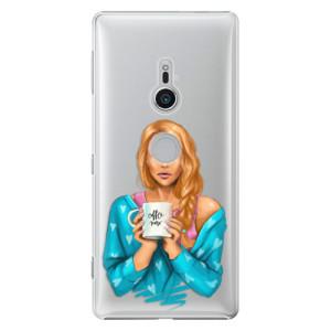 Plastové pouzdro iSaprio Coffee Now Zrzka na mobil Sony Xperia XZ2