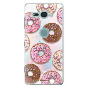Plastové pouzdro iSaprio Donutky Všude 11 na mobil Sony Xperia XZ2 Compact