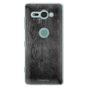 Plastové pouzdro iSaprio Black Wood 13 na mobil Sony Xperia XZ2 Compact