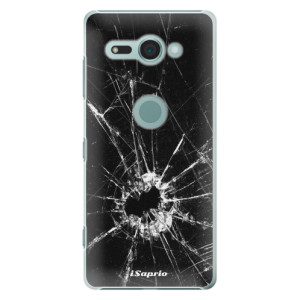 Plastové pouzdro iSaprio Broken Glass 10 na mobil Sony Xperia XZ2 Compact