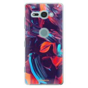 Plastové pouzdro iSaprio Barevný mramor 19 na mobil Sony Xperia XZ2 Compact