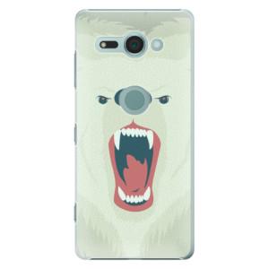 Plastové pouzdro iSaprio Naštvanej Medvěd na mobil Sony Xperia XZ2 Compact