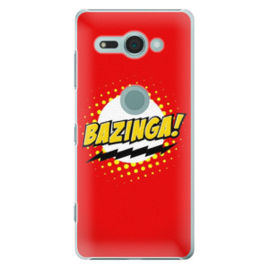 Plastové pouzdro iSaprio Bazinga 01 na mobil Sony Xperia XZ2 Compact
