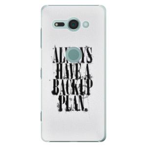 Plastové pouzdro iSaprio Backup Plan na mobil Sony Xperia XZ2 Compact
