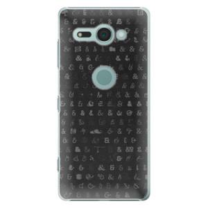 Plastové pouzdro iSaprio Ampersand 01 na mobil Sony Xperia XZ2 Compact