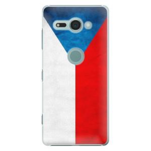 Plastové pouzdro iSaprio Česká Vlajka na mobil Sony Xperia XZ2 Compact