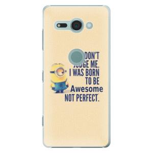 Plastové pouzdro iSaprio Be Awesome na mobil Sony Xperia XZ2 Compact