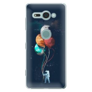 Plastové pouzdro iSaprio Balónky 02 na mobil Sony Xperia XZ2 Compact