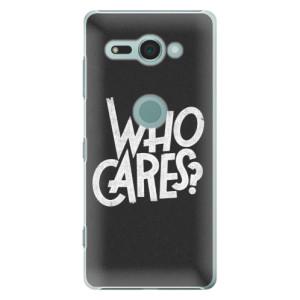 Plastové pouzdro iSaprio Who Cares na mobil Sony Xperia XZ2 Compact