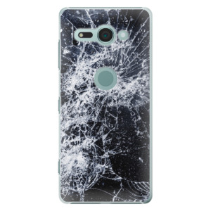 Plastové pouzdro iSaprio Praskliny na mobil Sony Xperia XZ2 Compact