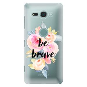 Plastové pouzdro iSaprio Be Brave na mobil Sony Xperia XZ2 Compact