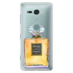 Plastové pouzdro iSaprio Chanel Gold na mobil Sony Xperia XZ2 Compact
