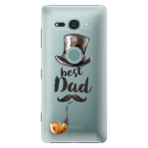 Plastové pouzdro iSaprio Best Dad na mobil Sony Xperia XZ2 Compact