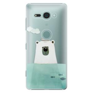 Plastové pouzdro iSaprio Medvěd s Lodí na mobil Sony Xperia XZ2 Compact