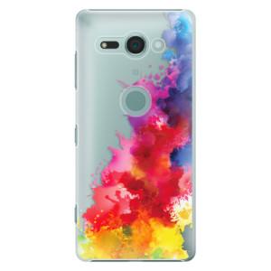 Plastové pouzdro iSaprio Color Splash 01 na mobil Sony Xperia XZ2 Compact