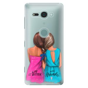 Plastové pouzdro iSaprio Best Friends na mobil Sony Xperia XZ2 Compact