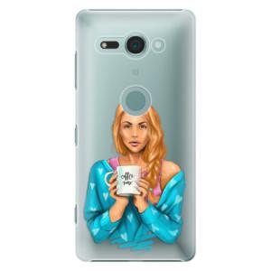 Plastové pouzdro iSaprio Coffee Now Zrzka na mobil Sony Xperia XZ2 Compact