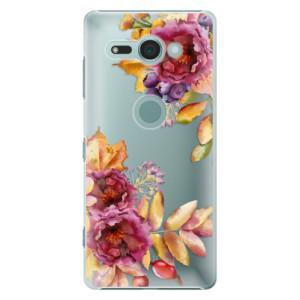 Plastové pouzdro iSaprio Podzimní Květiny na mobil Sony Xperia XZ2 Compact