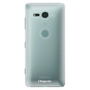 Plastové pouzdro iSaprio 4Pure mléčné bez potisku na mobil Sony Xperia XZ2 Compact