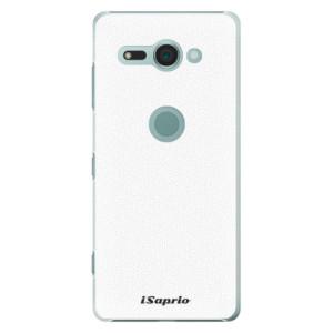 Plastové pouzdro iSaprio 4Pure bílé na mobil Sony Xperia XZ2 Compact