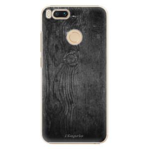 Plastové pouzdro iSaprio Black Wood 13 na mobil Xiaomi Mi A1