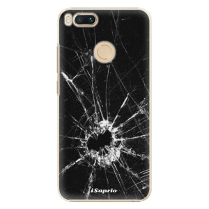 Plastové pouzdro iSaprio Broken Glass 10 na mobil Xiaomi Mi A1