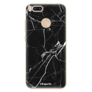 Plastové pouzdro iSaprio Black Marble 18 na mobil Xiaomi Mi A1