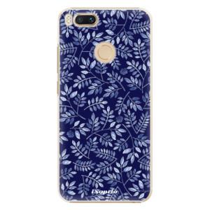 Plastové pouzdro iSaprio Blue Leaves 05 na mobil Xiaomi Mi A1