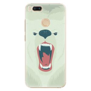 Plastové pouzdro iSaprio Naštvanej Medvěd na mobil Xiaomi Mi A1
