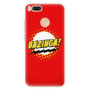 Plastové pouzdro iSaprio Bazinga 01 na mobil Xiaomi Mi A1