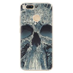 Plastové pouzdro iSaprio Abstract Skull na mobil Xiaomi Mi A1