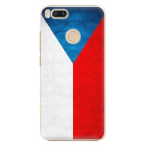 Plastové pouzdro iSaprio Česká Vlajka na mobil Xiaomi Mi A1