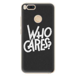 Plastové pouzdro iSaprio Who Cares na mobil Xiaomi Mi A1