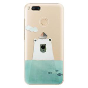 Plastové pouzdro iSaprio Medvěd s Lodí na mobil Xiaomi Mi A1