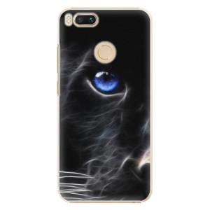 Plastové pouzdro iSaprio Black Puma na mobil Xiaomi Mi A1
