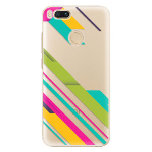 Plastové pouzdro iSaprio Barevné Pruhy 03 na mobil Xiaomi Mi A1