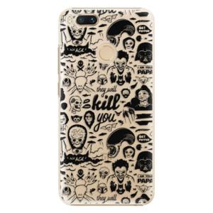 Plastové pouzdro iSaprio Komiks 01 black na mobil Xiaomi Mi A1